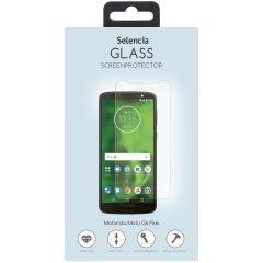 Selencia Gehard Glas Screenprotector Motorola Moto G6 Plus