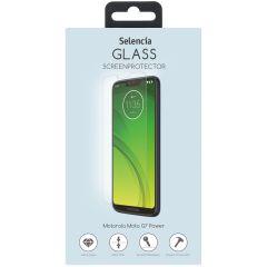 Selencia Gehard Glas Screenprotector Motorola Moto G7 Power
