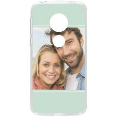 Ontwerp je eigen Motorola Moto G7 Play gel hoesje