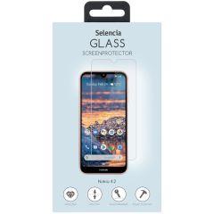 Selencia Gehard Glas Screenprotector Nokia 4.2