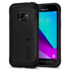 Spigen Slim Armor Backcover Samsung Galaxy Xcover 4 / 4S - Zwart