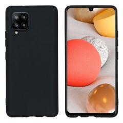 iMoshion Color Backcover Samsung Galaxy A42 - Zwart