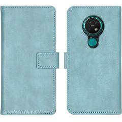 iMoshion Luxe Booktype Nokia 6.2 / Nokia 7.2 - Lichtblauw