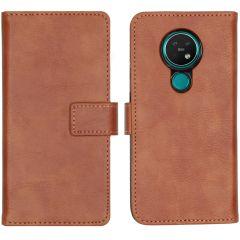 iMoshion Luxe Booktype Nokia 6.2 / Nokia 7.2 - Bruin