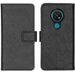 iMoshion Luxe Booktype Nokia 6.2 / Nokia 7.2 - Zwart
