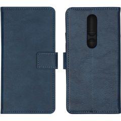iMoshion Luxe Booktype Nokia 4.2 - Donkerblauw