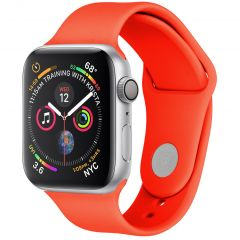 iMoshion Siliconen bandje Apple Watch Series 1 t/m 6 / SE - 38/40mm