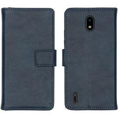 iMoshion Luxe Booktype Nokia 1.3 - Donkerblauw
