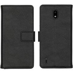 iMoshion Luxe Booktype Nokia 1.3 - Zwart