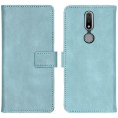 iMoshion Luxe Booktype Nokia 2.4 - Lichtblauw