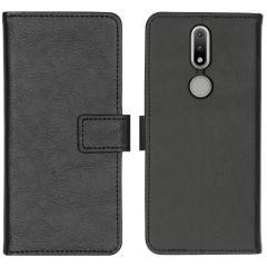 iMoshion Luxe Booktype Nokia 2.4 - Zwart