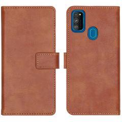 iMoshion Luxe Booktype Samsung Galaxy M30s / M21 - Bruin