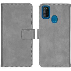 iMoshion Luxe Booktype Samsung Galaxy M30s / M21 - Grijs