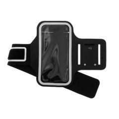 Sportarmband iPhone 12 (Pro) - Zwart
