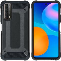 iMoshion Rugged Xtreme Backcover Huawei P Smart (2021) - Zwart