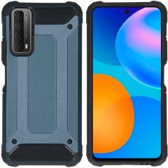 iMoshion Rugged Xtreme Backcover Huawei P Smart (2021) - Donkerblauw