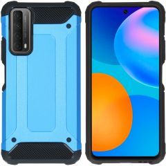 iMoshion Rugged Xtreme Backcover Huawei P Smart (2021) - Lichtblauw