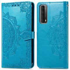 iMoshion Mandala Booktype Huawei P Smart (2021) - Turquoise