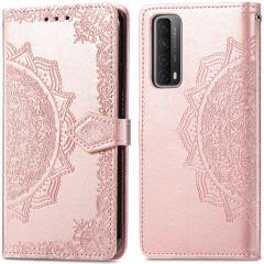 iMoshion Mandala Booktype Huawei P Smart (2021) - Rosé Goud