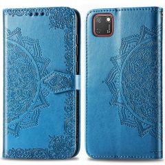 iMoshion Mandala Booktype Huawei Y5p - Turquoise