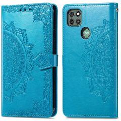 iMoshion Mandala Booktype Motorola Moto G9 Power - Turquoise