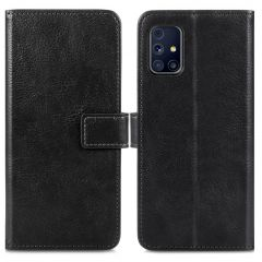 iMoshion Luxe Booktype Samsung Galaxy M31s - Zwart
