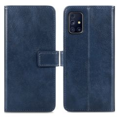 iMoshion Luxe Booktype Samsung Galaxy M31s - Donkerblauw
