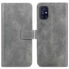 iMoshion Luxe Booktype Samsung Galaxy M31s - Grijs