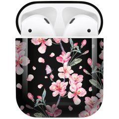 iMoshion Design Hardcover Case AirPods - Blossom Watercolor Black