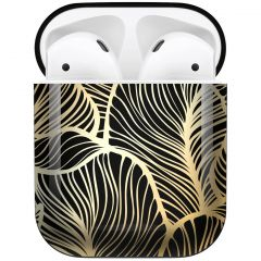 iMoshion Design Hardcover Case AirPods - Golden Leaves