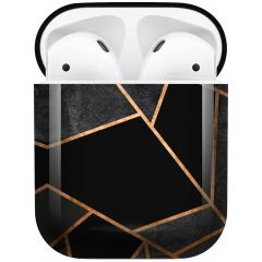 iMoshion Design Hardcover Case AirPods - Black Graphic