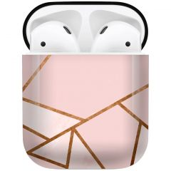 iMoshion Design Hardcover Case AirPods - Pink Graphic