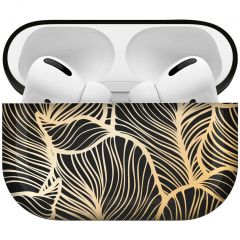 iMoshion Design Hardcover Case AirPods Pro - Golden Leaves