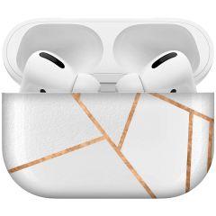 iMoshion Design Hardcover Case AirPods Pro - White Graphic