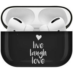 iMoshion Design Hardcover Case AirPods Pro - Live Laugh Love
