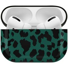 iMoshion Design Hardcover Case AirPods Pro - Green Leopard