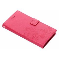 Klavertje Bloemen Booktype Samsung Galaxy Note 9