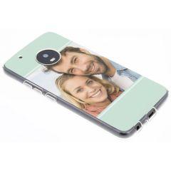 Ontwerp je eigen Motorola Moto G5 Plus gel hoesje