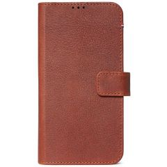 Decoded 2 in 1 Leather Booktype iPhone 11 - Bruin