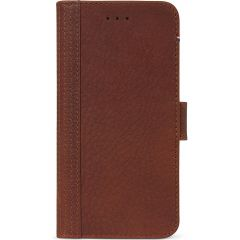 Decoded 2 in 1 Leather Booktype iPhone SE (2020) / 8 / 7 - Bruin