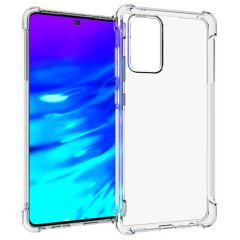iMoshion Shockproof Case Samsung Galaxy A72 - Transparant