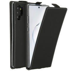 Accezz Flipcase Samsung Galaxy Note 10 Plus - Zwart