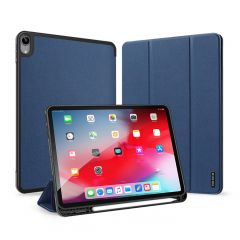 Dux Ducis Domo Bookcase iPad Air (2020) - Donkerblauw