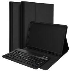 Accezz QWERTY Bluetooth Keyboard Bookcase Galaxy Tab S6 Lite