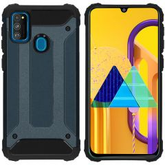 iMoshion Rugged Xtreme Backcover Galaxy M30s / M21 - Donkerblauw