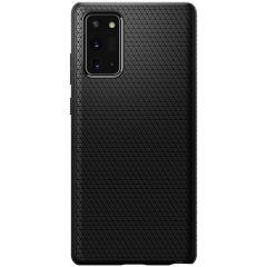 Spigen Liquid Air Backcover Samsung Galaxy Note 20 - Zwart