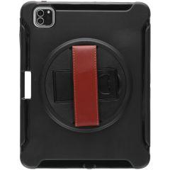 Defender Backcover met strap iPad Pro 11 (2020) - Zwart