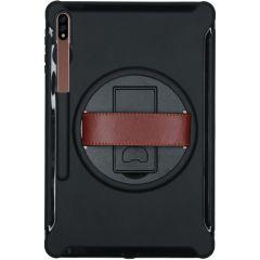 Defender Backcover met strap Samsung Galaxy Tab S7 Plus