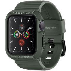 Spigen Rugged Armor™ Pro Case Apple Watch 40 mm - Groen