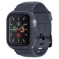 Spigen Rugged Armor™ Pro Case Apple Watch 44 mm - Donkergrijs